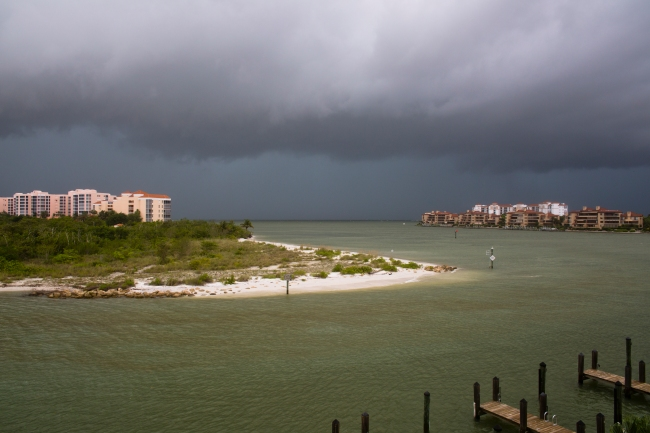 Tropical Storm Andrea brewing in the Gulf of Mexico